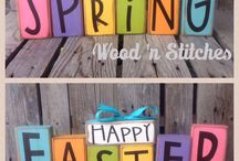 Spring Holidays / A page for Easter St. Patrick's Day, Mardi Gras and all holidays in Spring!