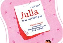 Geboortekaartjes / Leuke, lieve, mooie, stoere, originele, trendy geboortekaartjes van kaartenstudio.nl
