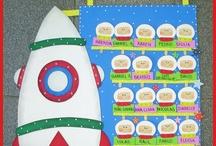 Material para educación inicial y preescolar / by Cachi Porra