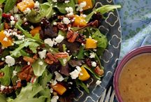 Salads and Veggies / by Alice Seuffert/Dining with Alice