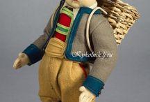Lenci felt dolls