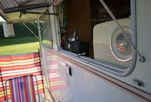 Gypsy Dreams / Glamourous camping, inspirational caravans, dreams of hitting the road with my wingman.
