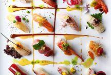 Sashimi de color