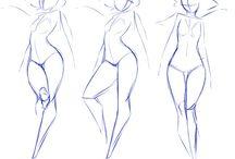 Illustration / Poses