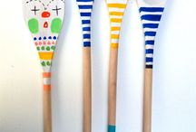 Spoons & paintbrushes
