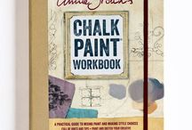 ** Annie Sloan - Books / Annie Sloan Books - Annie Sloan has written 25 books on colour, paint and the Annie Sloan methods of painting.  Colour Recipes for Painted Furniture; Quick and Easy Paint Transformations; Annie Sloan's Chalk Paint Workbook; Annie Sloan's Work Book1 - For your color & paint ideas & inspiration; Creating the French Look;