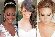 Maquiagem para noivas - makeup casamento - penteados e mais!