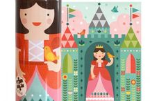 Inspiration - Toys / Toys and new products for kids using illustration and surface pattern design