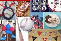 Baseball Birthday Party / by Breanna Pate