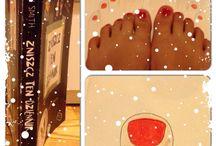 """""""Obrysuj swoje palce u stóp"""" / Tablica skupiająca wszystkie nadesłane prace zawierające stronę: """"Obrysuj swoje palce u stóp"""" :) swoje kreacje ślijcie na maila: kontakt@zniszcztendziennik.pl"""