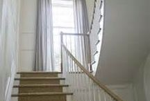 stair drapes