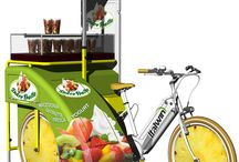 Bike'ngo: an idea for the street food / Un mezzo superecologico per lo Street food  e non solo in meno di 2mq !