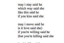 poetry / by Megan Tregler