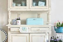 credenze shabby chic 2