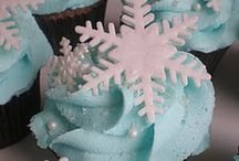 winter cupcake party