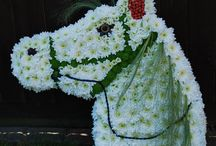 2D Funeral Designs / 2D personalised funeral designs by Jo Beth floral design