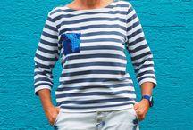 Timpe Tee / Timpe Tee ist ein Statement Bretonshirt. Ganz in der Tradition von Picasso und Coco Chanel... ;-)  ebook unter http://de.dawanda.com/product/105444707-ebook-timpe-tee-groessen-34-46