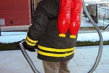 Anniversaire thème pompier