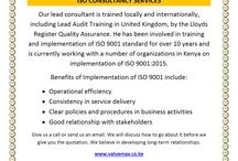 ISO 9001:2015 Consulting Services
