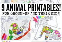 [Printables] Coloring pages
