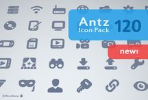 Antz Icon Pack by Micro Store on Creative Market