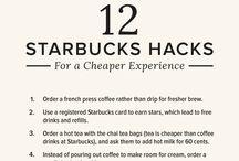starbucks hacks / Secret menus, hacks to save money