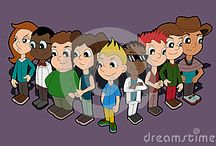 My newest cartoons / My new illustrations on Dreamstime