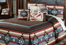 Southwest / Spice up your home with Southwest decor. With their warm, earthy colors and rustic motifs, these bedding ensembles and home accents call to mind desert landscapes and rugged ranches.