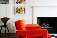 New York Apartment by A&P / Amidst the hustle and bustle of Manhattan, this West Village pied-à-terre served as Arent&Pyke's first foray into designing for a home in the Big Apple. The scheme is soft and relaxed with distinct punctuations of colour, texture and pattern. The end result is an urban oasis where the client can take in all that this iconic city has to offer through the privacy, warmth and comfort of their new home.  / by Arent&Pyke