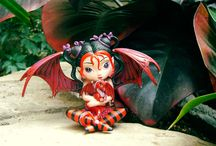 #RubysRealm / See the world through Ruby's eyes, as she and her dragonling friend give us a glimpse into the mystical world of fairies. We'll be sharing photos from #RubysRealm, so be on the lookout! / by The Hamilton Collection