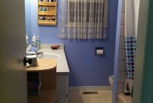 Bathroom reno ideas / Pretty sure we've got some rot/moisture in the floor, time to gut the bathroom!  The contractor is available in 2 months, so time to make some decisions! / by Eva Tilly