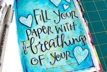 Art Journaling-Created