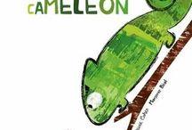 La coccinelle et le cameleon