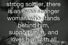 Appreciation for Military Spouses / Thank you for your support. We appreciate all that you do for those who protect our freedom.