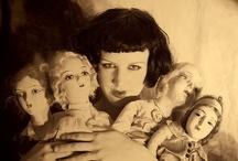Budoir/Flapper/Half dolls
