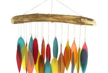 windchimes and mobiles