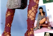 Crochet stockings