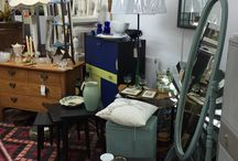 Retro and shabby chic furniture at Amorini Antiques Centre, Wirral, Merseyside