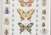 Cross stitch and nature / by Małgorzata Czyżewska
