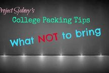 On your own...moving to college