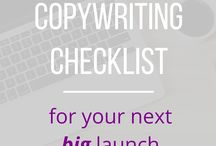 """Copywriting Checklist / """"Words are, of course, the most powerful drug used by mankind."""" - Rudyard Kipling  This board is focused on content marketing, content, blogging, email marketing, tech for online entrepreneurs, communications and copywriting for entrepreneurs. Learn more at www.nicolescooper.com"""