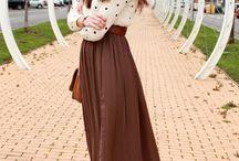 billow skirts