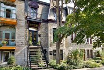 812-814 rue Cherrier, Plateau Mont-Royal MLS 28314649 / RARE 3-storey building (cottage + office) on the majestic Cherrier street. Original architecture cachet has been preserved. Stone façade. 4 bedrooms. Hardwood Flooring. High ceilings. MQ windows with wooden shutters. Lovely backyard with patio + landscaping. 3 private parking. Carefully renovated. DOUBLE OCCUPANCY available. Dream location!
