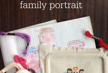 Sewing Projects {Embroidery and Cross Stitch} / Embroidery and cross stitch needlework and sewing projects
