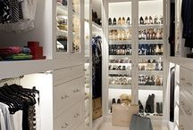 Walk in closet / Ideas for future walk in closet