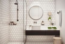 Bathroom / An eclectic mix of rooms to refresh ourselves in