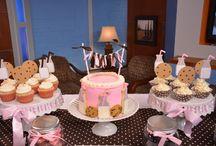Aubrey's birthday parties