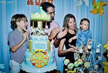 Nossas festas: 1 ano de Noah - parque de diversões
