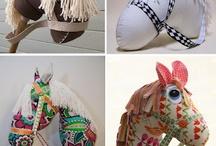 caballos de tela