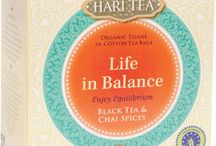 Life in Balance - Enjoy Equilibrum / A loose tea mixture of tea, organic herbs and spices in pure cotton tea bags, featuring black tea and chai spices. This is a wonderful tea to drink when you wish to bring your body's elements into balance.